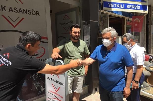 AK Parti Milletvekili Yavuz Subaşı, Erdek'te