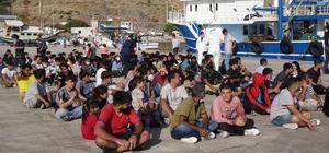 Çanakkale'de balıkçı teknesine operasyon: 231 düzensiz göçmen yakalandı Umuda yolculuk için 7 bin dolar ödemişler