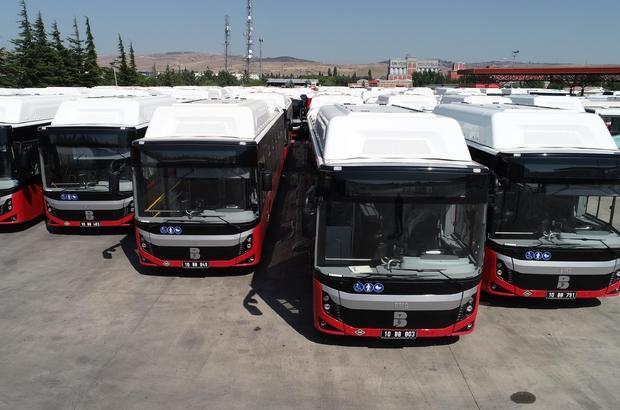 Balıkesir Büyükşehir araç filosunun gücüne güç kattı Çevreci otobüsler yollara çıkıyor