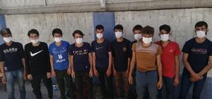 Kocaeli'de 19 kaçak göçmen yakalandı