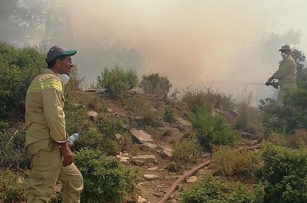 Afyon'dan Manavgat yangınına destek Müdahale için Afyonkarahisar'dan 16 kişiden oluşan 4 ekip Manavgat'a gitti
