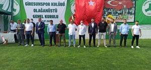 Giresunspor'da görev dağılımı yapıldı