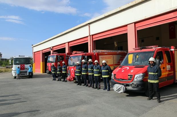 Van Büyükşehir Belediyesinden Antalya'daki yangın söndürme çalışmalarına destek