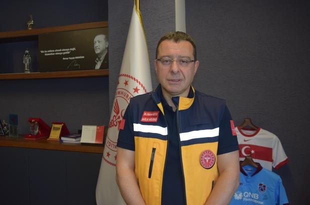 """Usta: """"Şu anda günlük vaka sayımız 300'ün üzerinde"""" Trabzon İl Sağlık Müdürü Hakan Usta: """"Şu an maalesef yoğun bakımlarda, servislerdeki yatak doluluk oranlarında, entübe sayılarımızda bir hareketlenme var"""" """"Bu duruma baktığımızda yüzde 90 oranında, aşı takvimi tamamlamamış veya aşı olmamış kişilerde görülüyor"""""""
