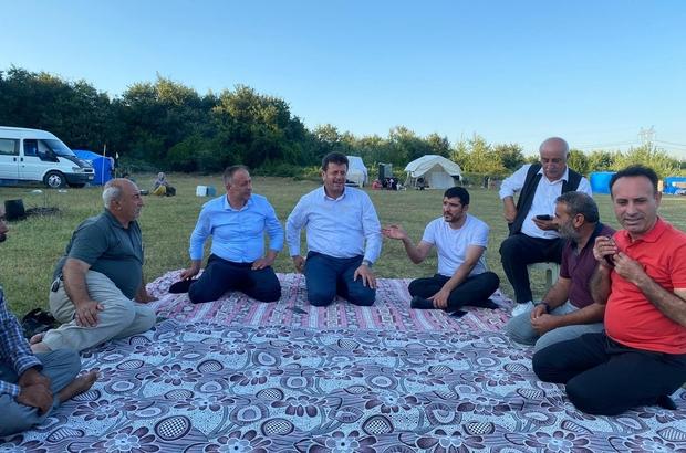 Tarım işçilerini ziyarette birlik ve beraberlik mesajı Diyarbakır ve Adıyaman'dan Sakarya'ya giden tarım işçilerine anlamlı ziyaret