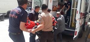 Asansör halatı koptu, iki kişi 9 metreden aşağı çakıldı
