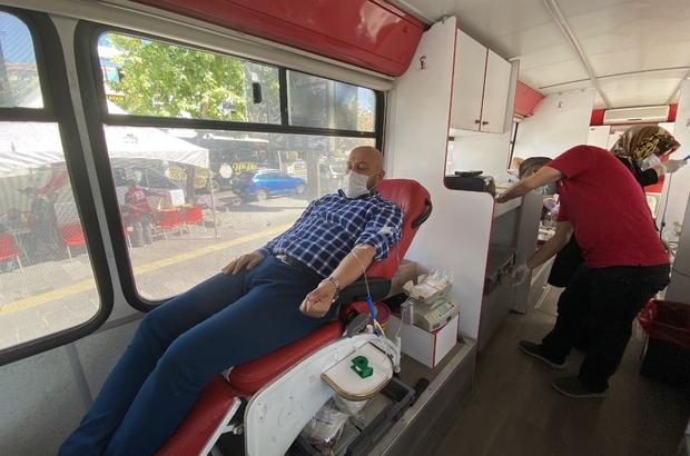 """Kızılay Niğde Şube Başkanı Gençoğlu: """"Koronavirüs geçirenler kan verebilir"""""""