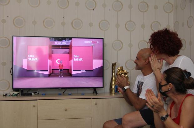 Ersu Şaşma'nın evinde heyecan doruğa çıktı Mersinli milli sporcu Ersu Şaşma, olimpiyatlarda 10'uncu oldu