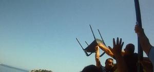 Belediye personelleri demir sopalı, şişeli saldırıya uğradı: O anlar kamerada İzinsiz kullanılan arsanın işgalini sona erdirmek isteyen görevliler saldırıya uğradı