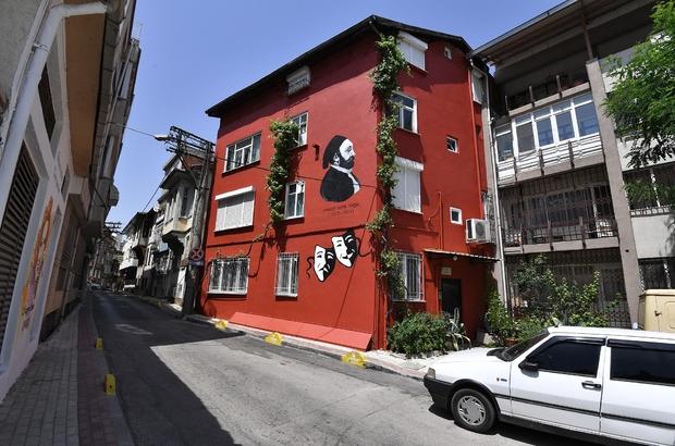 Osmangazi sanatla renklendi Osmangazi sokaklarına estetik dokunuş