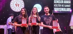 Afyonkarahisarlı gençler Türkiye üçüncüsü oldu