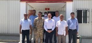 Samsat Jandarma Komutanı başarı belgesi ile uğurlandı