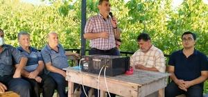 Erzin'de 3 mahalle birleşerek yağmur duası yaptı