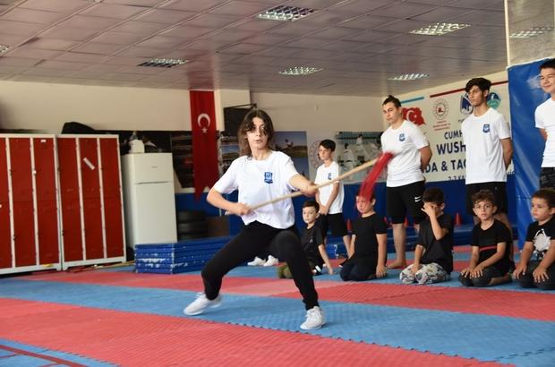 Yunusemre'de Wushu Kung-Fu sporu büyük ilgi görüyor