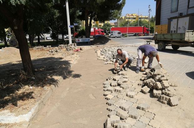 Turgutlu Belediyesi ilçe genelindeki çalışmalarına devam ediyor
