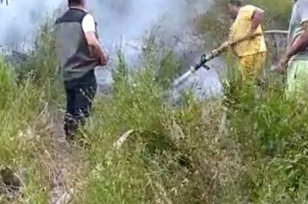 Andırın'da orman yangını