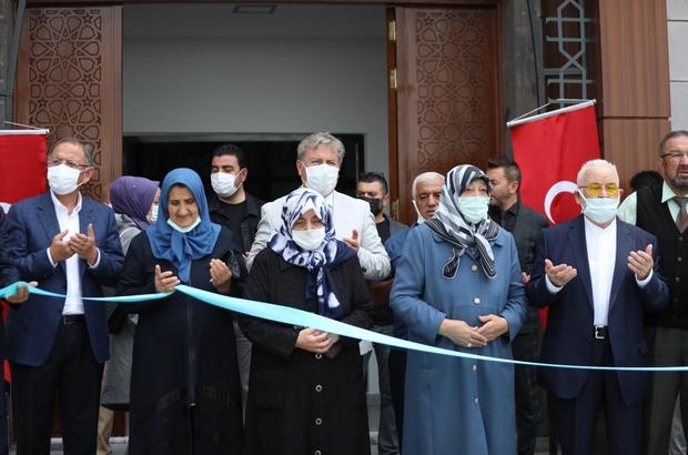 Melikgazi'de ihtiyaçlar tek tek gideriliyor Ayten- Hacı Ömer Kara Cami açıldı