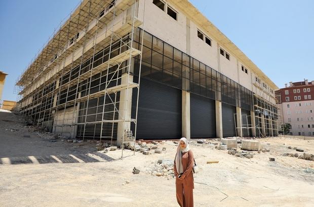 Beykent 2 Pazar yeri inşaatında sona gelindi
