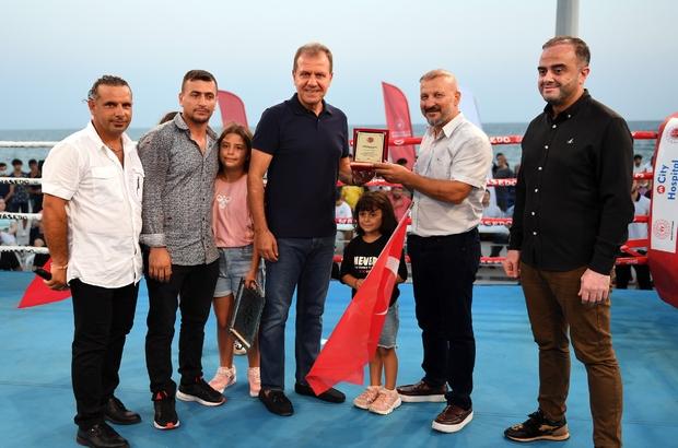 Başkan Seçer, muaythai şampiyonlarının buluştuğu geceye katıldı