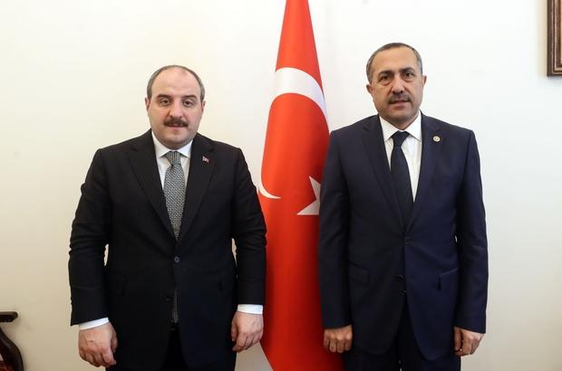 """Milletvekili Abdulahat Arvas, Erciş sanayisi """"Ortak Kullanım Atölyesi"""" ile  dönüşecek"""