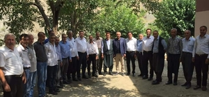 Milletvekili Taş Sincik köylerini gezdi