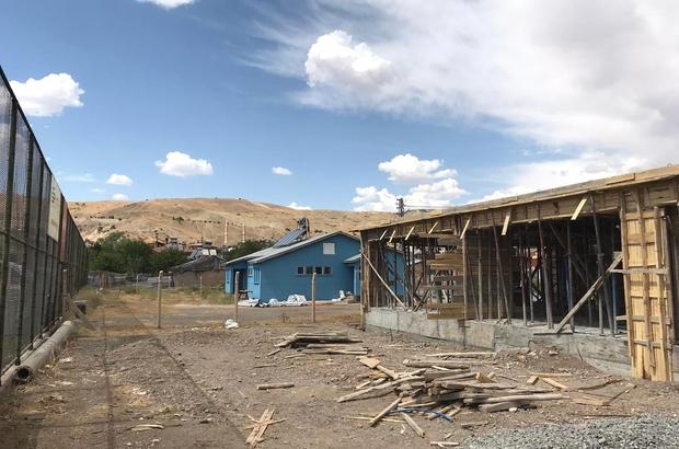 Elazığ'ın ilçelerinde spor tesisleri yükseliyor