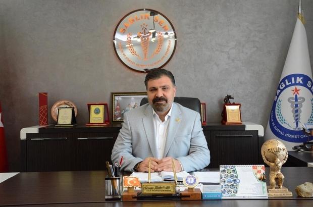 """Sağlıkçılardan izin yasağına tepki Sağlık-Sen Antalya Şube Başkanı Kuluöztürk: """"Dışarıda her şey normal seyrederken sağlıkçıların izinlerinin yasaklanması kabul edilemez"""""""