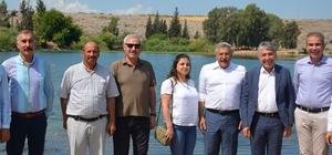 """Gölbaşı Gölü, turizme kazandırılıyor Yayman: """"Hatay'ın değil Türkiye'nin en önemli alanlarından bir tanesi olacak"""""""