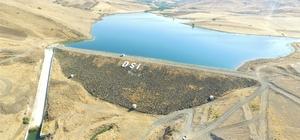 Elazığ'da Tatar Göleti sulaması inşaat çalışmaları devam ediyor