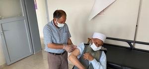 Arıcak'ta aşı seferberliği