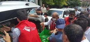 Solhan'da vatandaşlara aşure ikram edildi