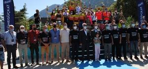Eğirdir Triatlonu Türkiye Kupası final yarışları sona erdi