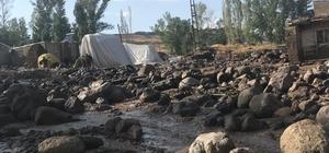 Ağrı'da sel suları evini basınca kalp krizi geçiren kadın hayatını kaybetti