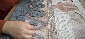Samsat'ta tarih mozaiklerle yeniden canlanıyor