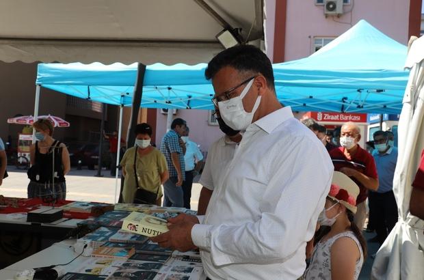 Alaşehir Kongresinin 102. yılı anısına 'Kitap Fuarı' açıldı