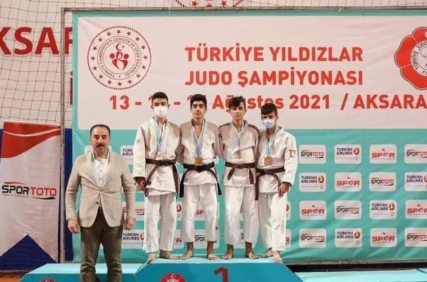 Salihlili judocular derecelerle döndü