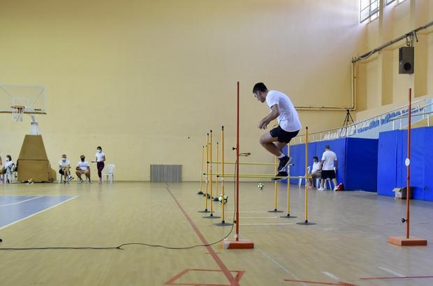 Manisa CBÜ Spor Bilimleri Fakültesi için 2 bine yakın başvuru MCBÜ Spor Bilimleri Fakültesi özel yetenek sınavı adayların yoğun ilgisiyle başladı