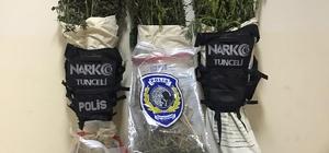 Tunceli'de uyuşturucu operasyonu: 1 kişi gözaltına alındı