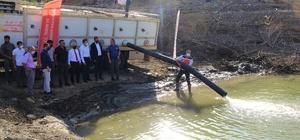 Bingöl'de baraj ve göletlere 1 milyon 200 bin yavru sazan bırakıldı
