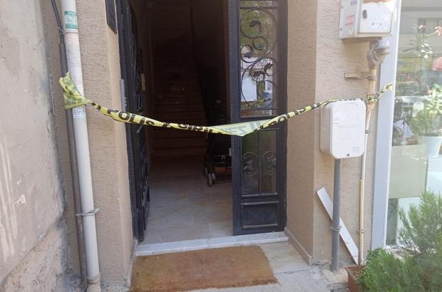 Eskişehir'de komşu cinayeti Komşusunu öldüren şüpheli gözaltına alındı