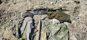 Tunceli'de 1 terörist etkisiz hale getirildi, silah ve mühimmat ele geçirildi