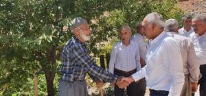 Milletvekili Taş, Çelikhan'ın tüm köy ve mezralarını gezdi
