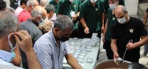Solhanspor, 500 kişiye aşure ikram etti