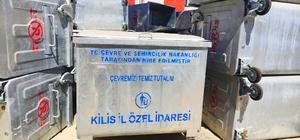 Köylere çöp konteyneri dağıtılmaya başlandı