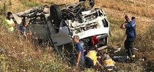 Edirne'de feci kaza: Bir aile yok oldu