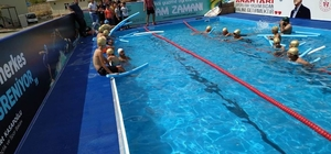 Tunceli'de yüzme bilmeyenler için portatif yüzme havuzu oluşturuldu
