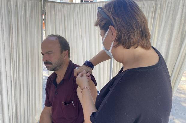 Düzce'de 430 bininci aşı yapıldı