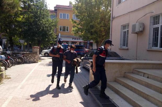 Sit alanında iş makinesiyle kaçak kazı yapan 3 kişi yakalandı