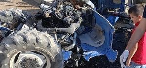Batman'da traktör devrildi: 2 yaralı