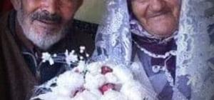 63 yıllık çifti, ölüm bile ayıramadı